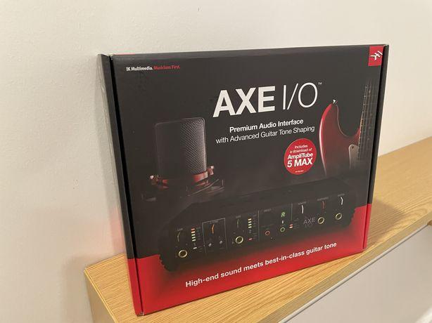 Interface Axe I/O + Amplitube 5 MAX - NOVO/Selado