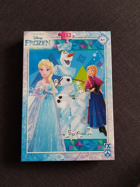 Puzzle Frozen 112 dla dziewczynki 6+
