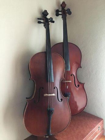 Violoncelo 1/2 Luthier Ricardo Belinha Paços de Brandão