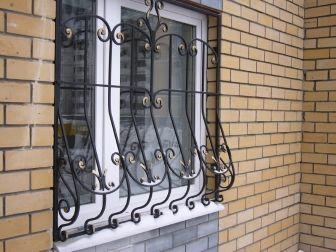 Решетки на окна, двери, балкон. Сварные, Кованые. 10-й 12-й квадрат