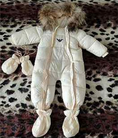 Зимний комбез Armani Junior 12м