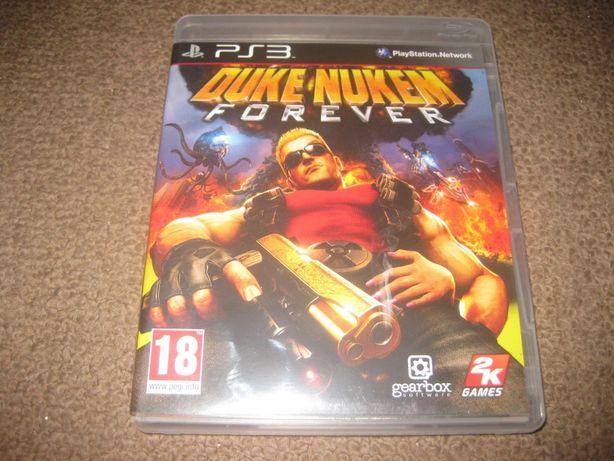 """Jogo """"Duke Nukem Forever"""" PS3/Completo!"""