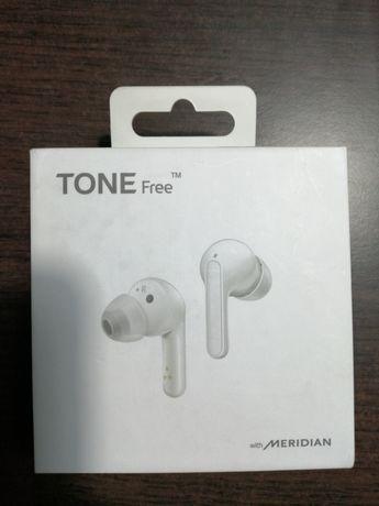 Słuchawki LG Free FN4 dokanałowe białe