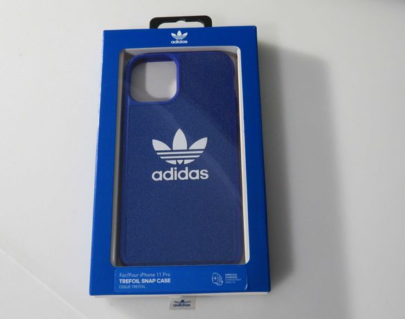 Adidas Trefoil Snap Case, iPhone 11 Pro CoQue Trefoil Nova e Selada