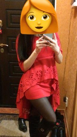 Вечернее, кружевное платье.