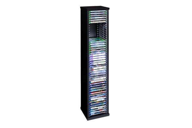 Regał Stojak na płyty PS4 PS5 Xbox Filmy Blu-Ray 60 pudełek
