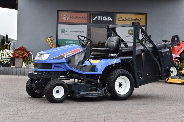 Kosiarka traktorek ISEKI SXG 22 diesel, górny wysyp kosza 22 KM, mocna