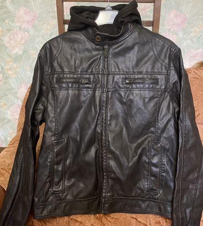 Мужская спортивная куртка из искусственной кожи Columbia