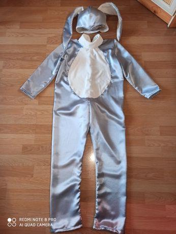 Карнавальный костюм зайца, р 135-145см