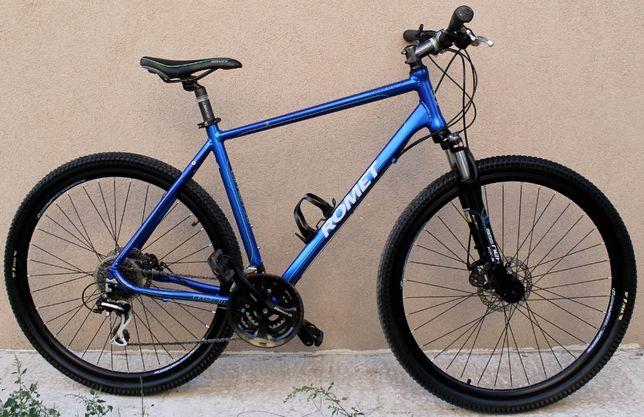 велосипед romet на рост 180-190см колеса 29 тормоз диcковые