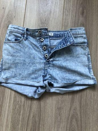 ABERCROMBIE & FITCH oryginalne spodenki jeans 16 lat