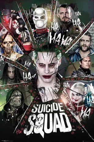 Lote 3 Posters novos Suicide Squad