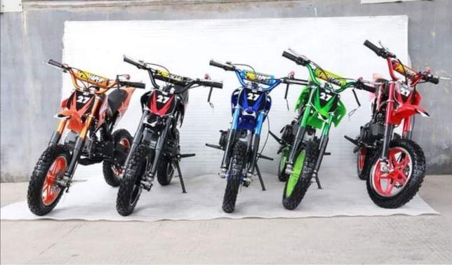 Mini moto cross 49cc a gasolina