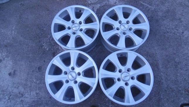 Alu Felgi BMW 6,5Jx16 DEZENT , 5x120 , IS (ET40) , 4szt. ANDAR / Opony