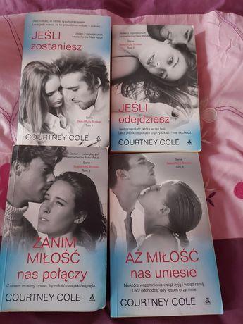 JEŚLI ZOSTANIESZ,4 Książki romantyczno- erotyczne , Literatura kobieca