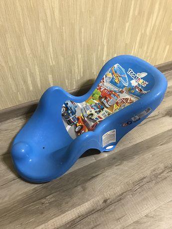 Горка для купания Tega Baby Cars синяя