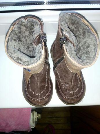 Зимові чобітки на цигейці