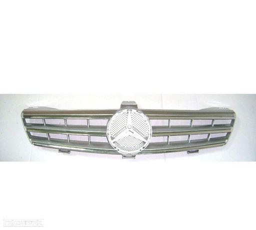 GRELHA FRONTAL SPORT AMG MERCEDES CLS W219 04-10 CROMADA PRATA