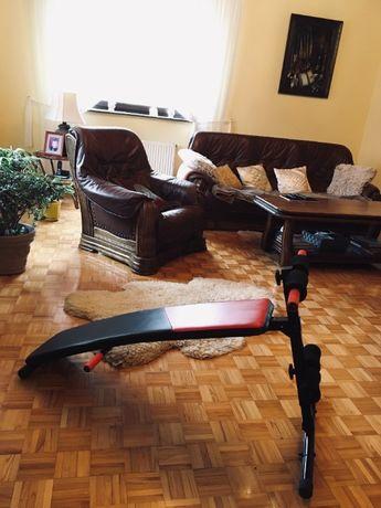Ławeczka regulowana do brzuszków SOLIDNA ćwiczeń ławka siłownia fitnes
