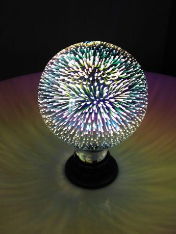 Żarówka fajerwerki 3D E27