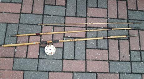 Wędka z bambusa jedyna konkretna okazja okaz