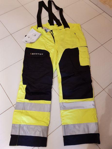 Zimowe spodnie i kurtka XL, Fristads Kansas (ochronne/robocze)