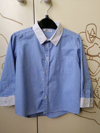 Koszula chłopięca r 86