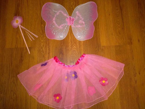 Карнавальный костюм феи. Для девочек 4-10 лет.