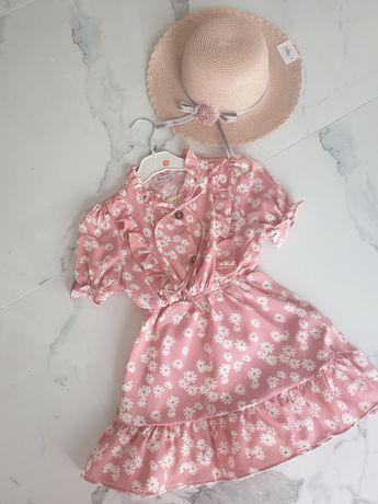 Sukienka na lato w stokrotki