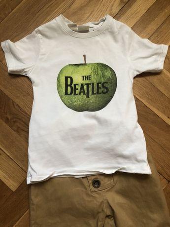 Zara koszulka t-shirt the beatles 98cm