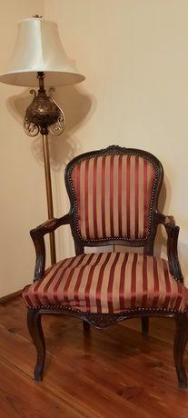 2 stylowe fotele do gabinetu, biblioteczki