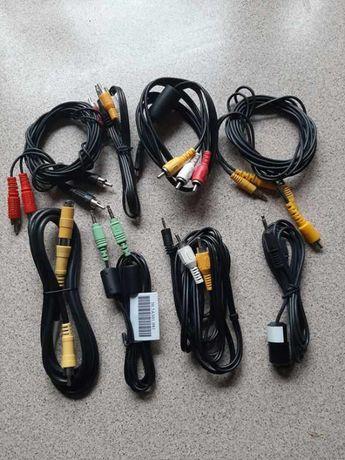 zestaw różnych kabli i nie tylko