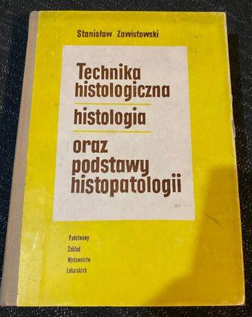 "Książka ""Technika histologiczna/histologia/oraz podstawy histopatologi"