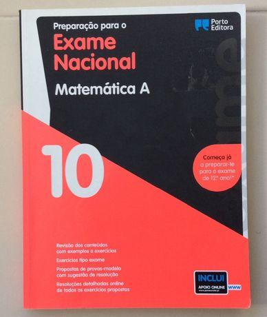 Matemática A - 10.o Ano - Preparação para o Exame Nacional