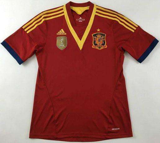 Camisola seleção espanhola Campeões do Mundo 2010 Adidas Oficial