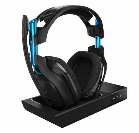 Zestaw słuchawkowy ASTRO A50 Wireless + Base Station dla PS4 oraz PC