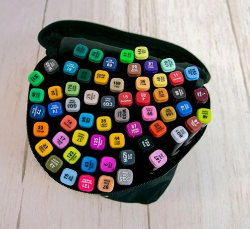 ТОП!!! Набор скетч-маркеров для рисования двусторонних Touch