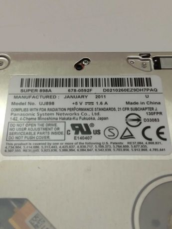 Apple Macbook Pro - Drive Gravador CD/DVD