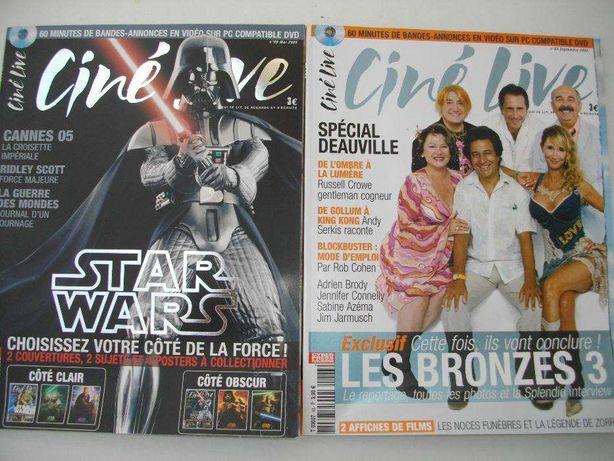 Ciné Live: 9 revistas em Francês