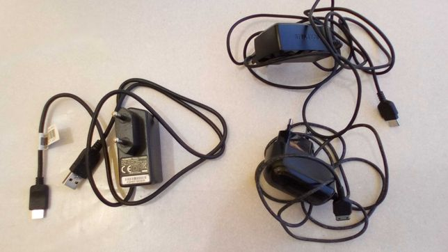Carregadores de telemóvel