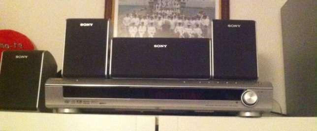 Leitor DVD DAV-DZ100 + Colunas 5.1 e subwoofer Sony