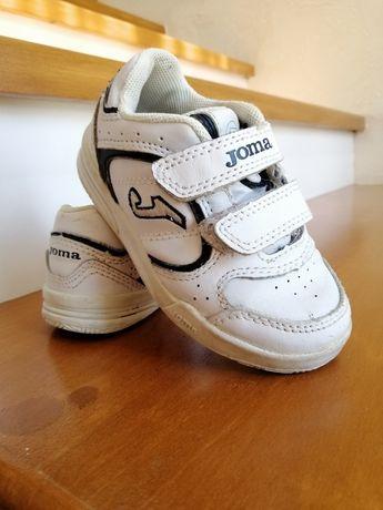 Кросівки  Joma білі для хлопчика 22 розмір кроссовки