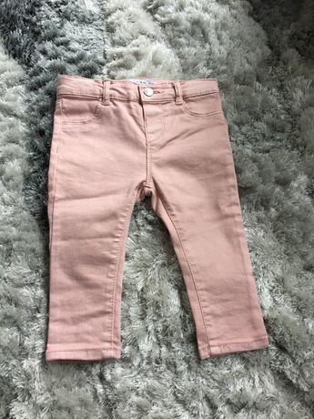 Jeansy spodnie Zara 80