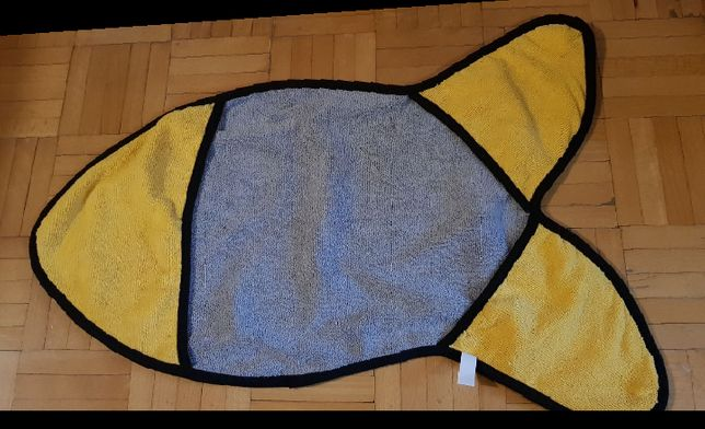 Ręcznik dla pupila kształt ryby