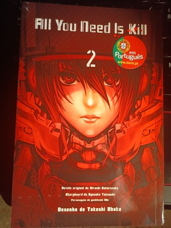 All you need is kill Vol. 2 (PT)
