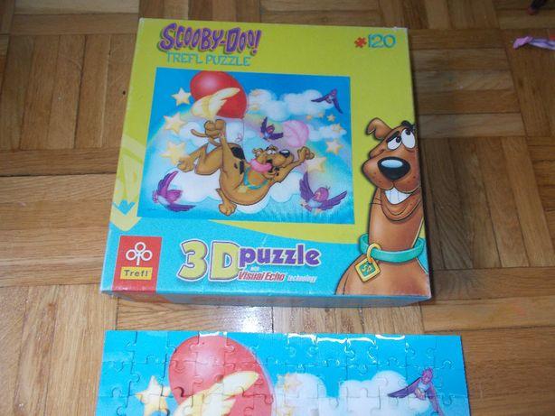 scooby-doo puzzle 3d
