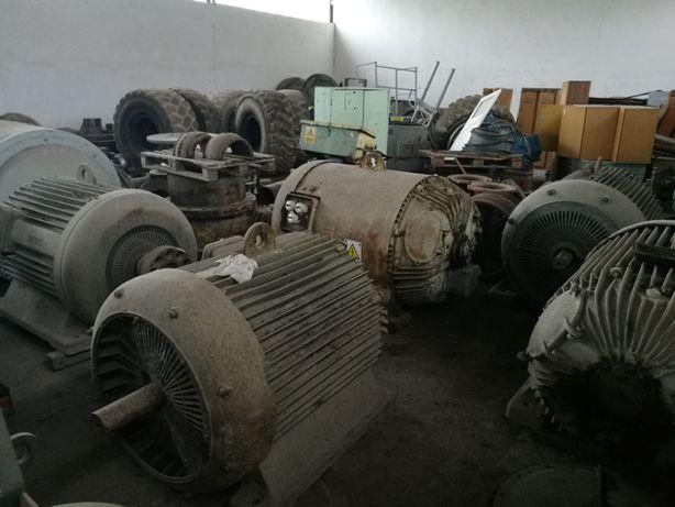 Silniki elektryczne średnionapięciowe 6kV od 200 do 250 kW - SPRAWNE