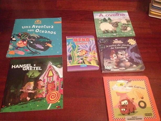 Livros infantis - vários