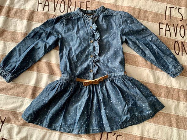 Платье для девочки, на 2 - 3 годика