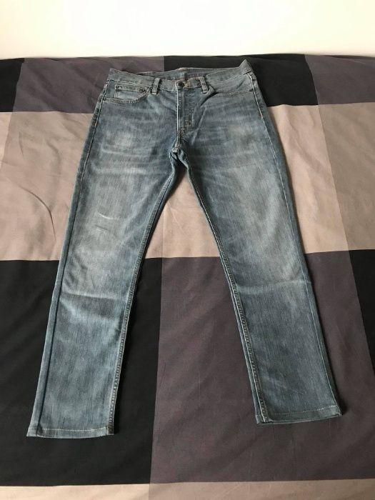 Levis Skateboarding 511 Light Blue Jeans W32 L30 Spodnie Niebieskie Kielce - image 1